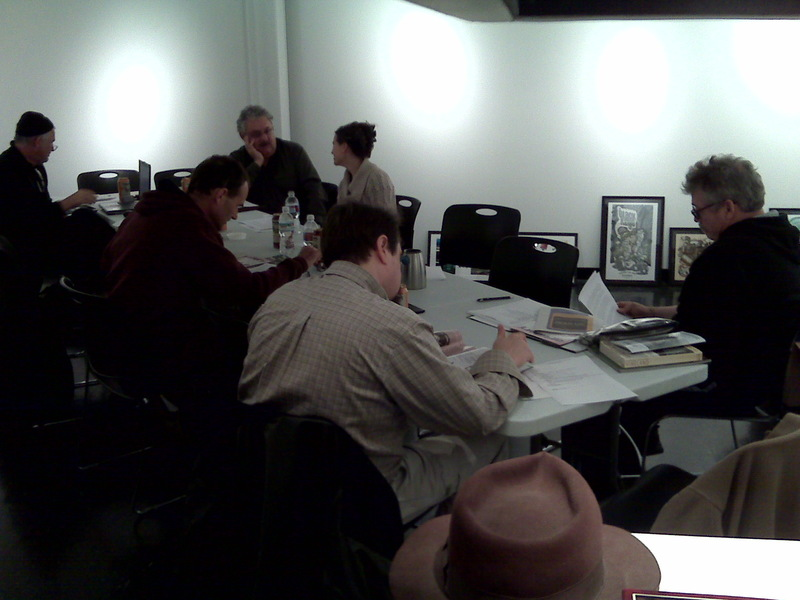 At The Grand Central Art Center Board Meeting
